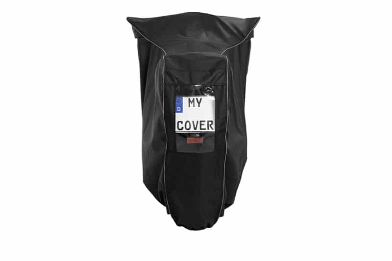 Cover with a viewing window for your bike. Do not risk a warning!