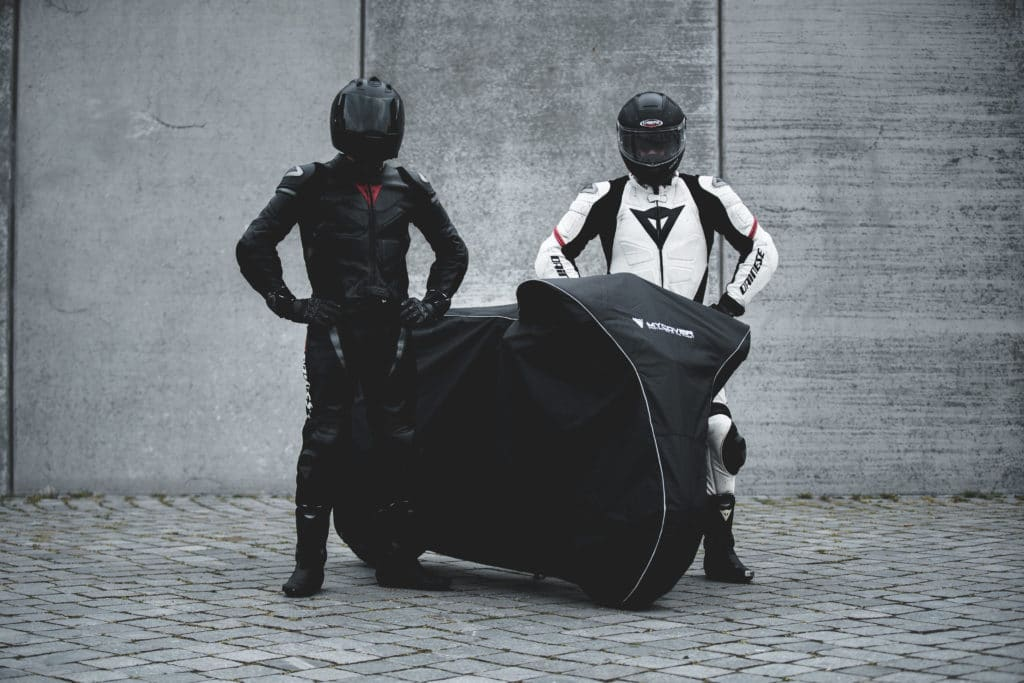 MYCOVER motorcycle cover developed in Germany