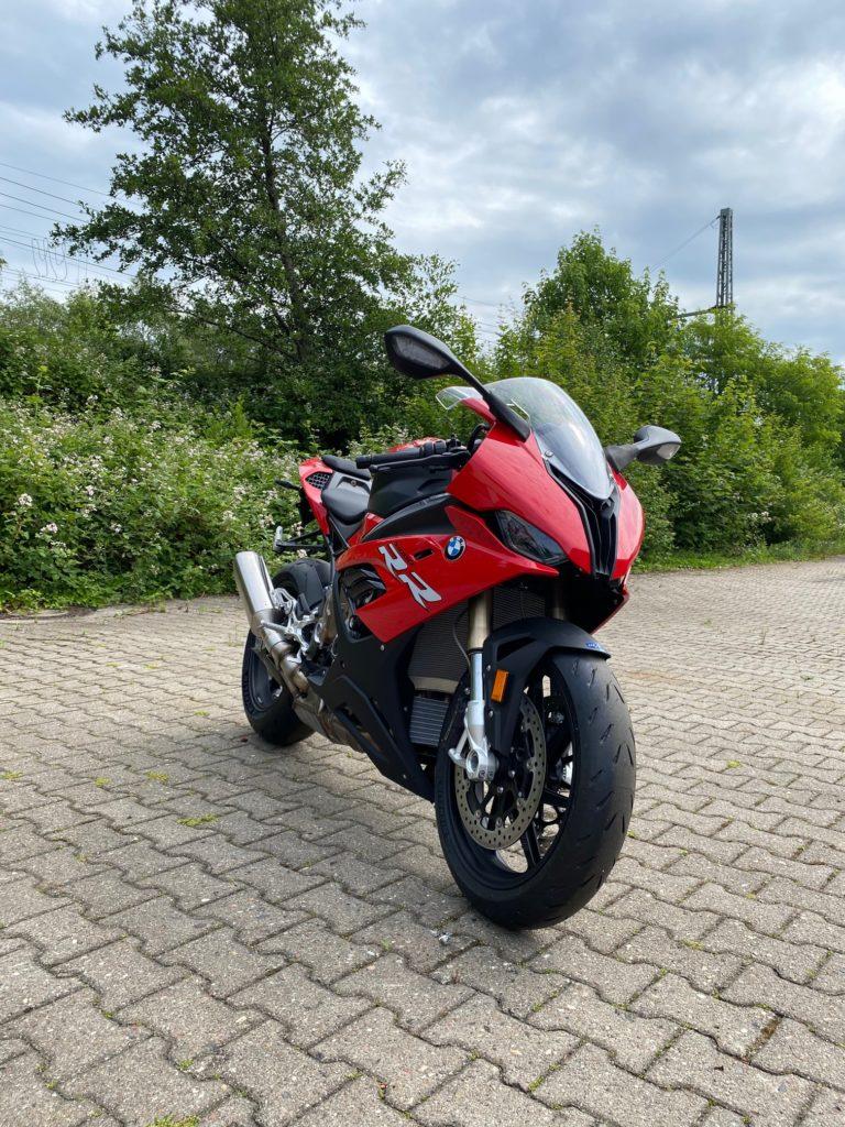 Motorradabdeckung auch für BMW S 1000 RR