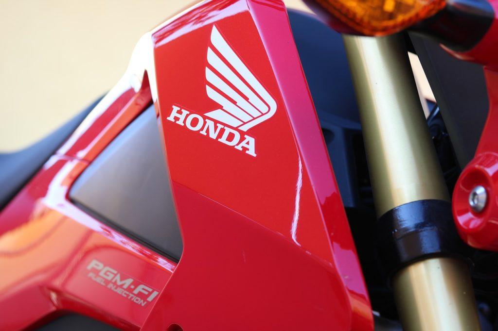 Abdeckung für Honda Motorrad