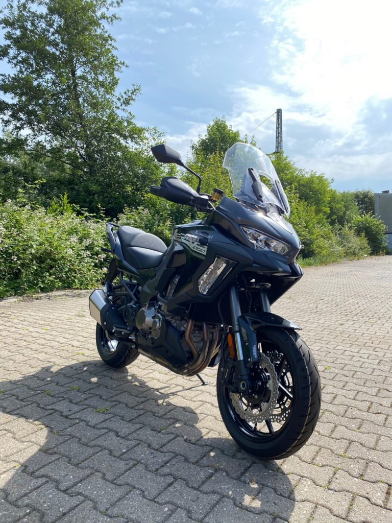 Motorrad Abdeckplane Kawasaki Versys 1000
