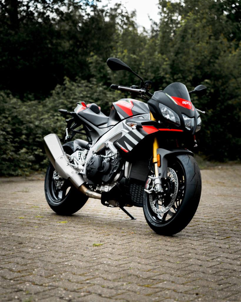Motorrad Abdeckplane für Aprilia Tuono V4