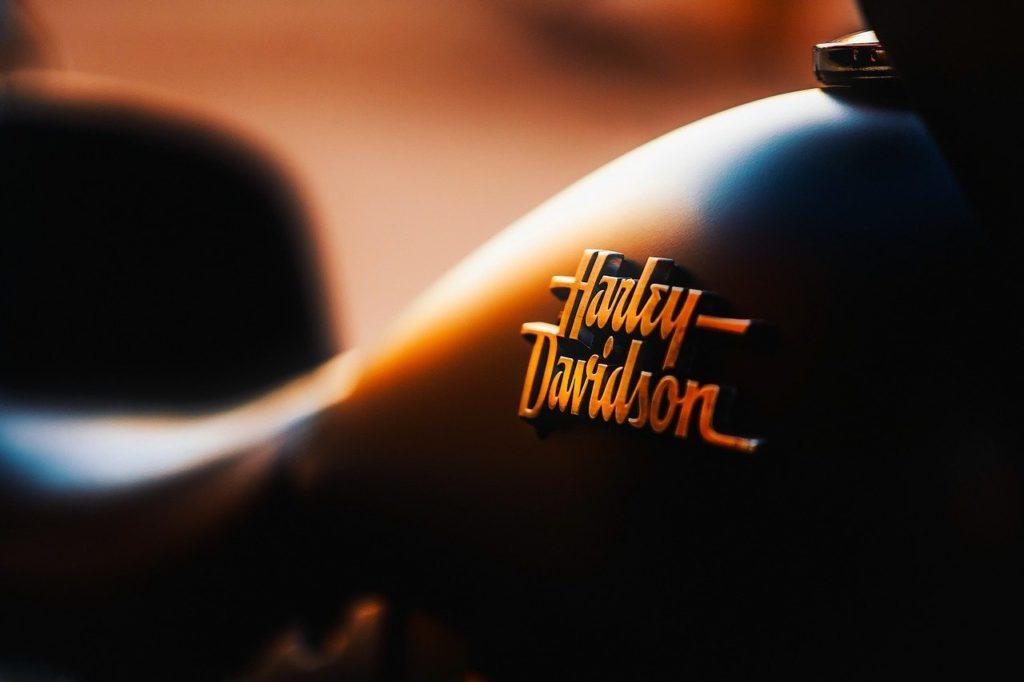 Motorrad Abdeckplane Harley Davidson