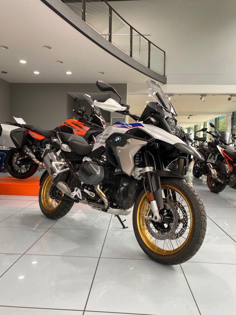 Motorrad Abdeckung auch für BMW R 1250 GS