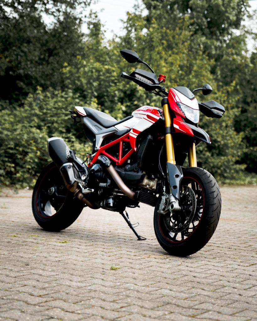 Motorradplane auch für Ducati Hypermotard