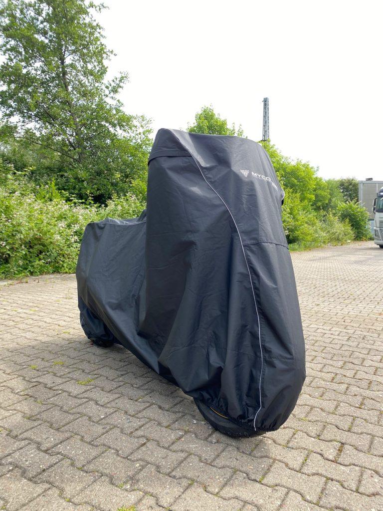 Suzuki V-Strom Motorrad Abdeckung MYCOVER