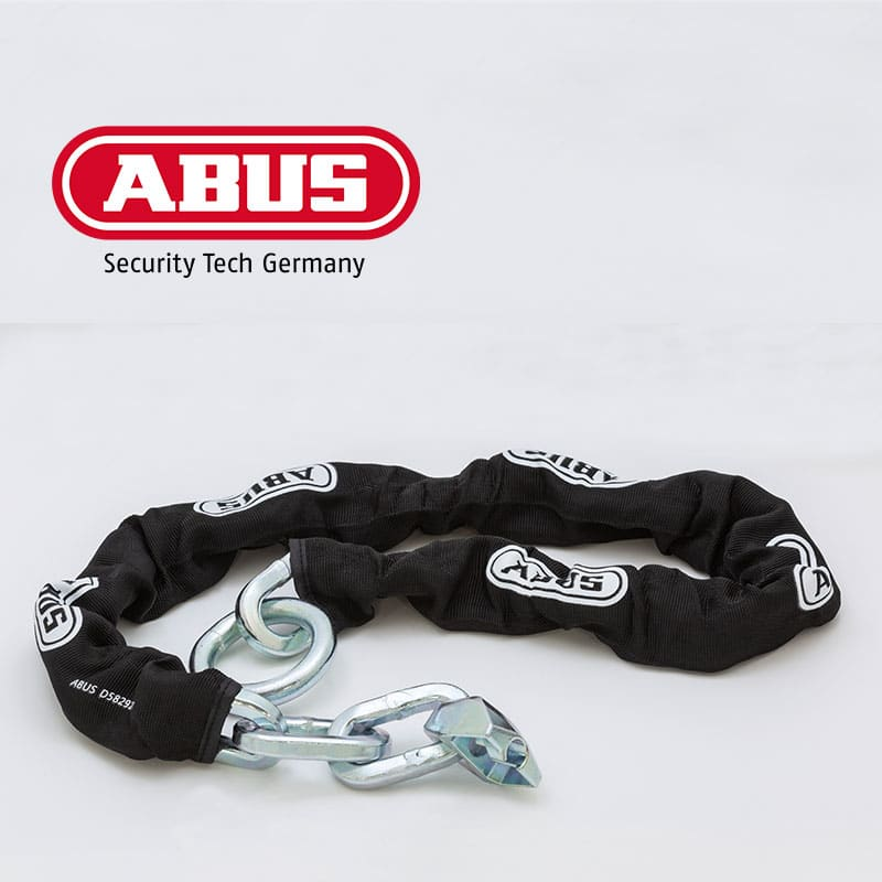 Lose Motorrad Zubehör Schloss Kette ABUS 12KS120 für GRANIT™ Detecto SmartX 8078