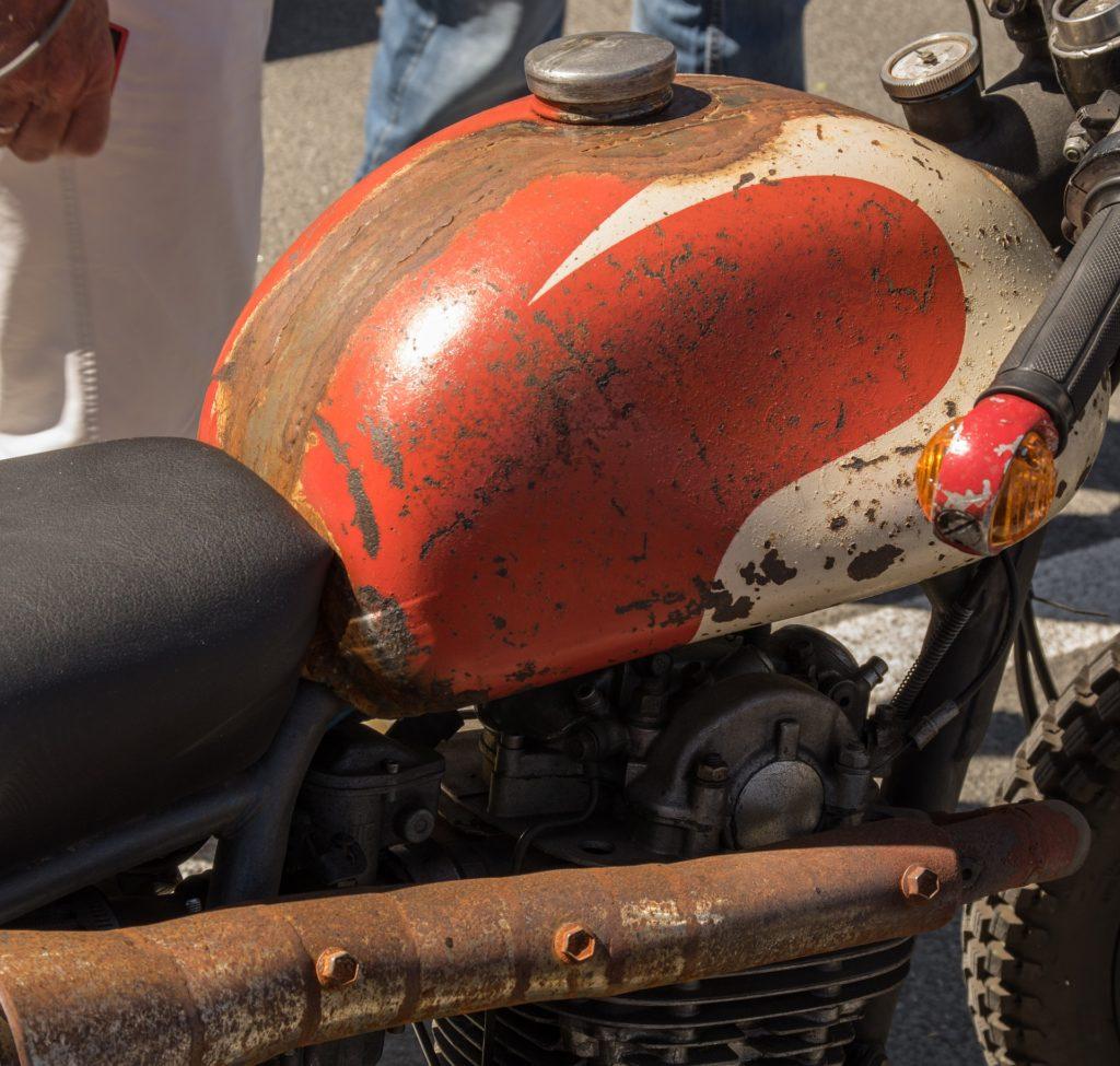 Motorrad Outdoor Rost