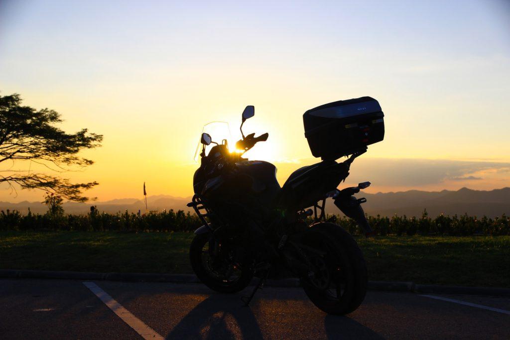 Motorrad Garage Diebstahlschutz