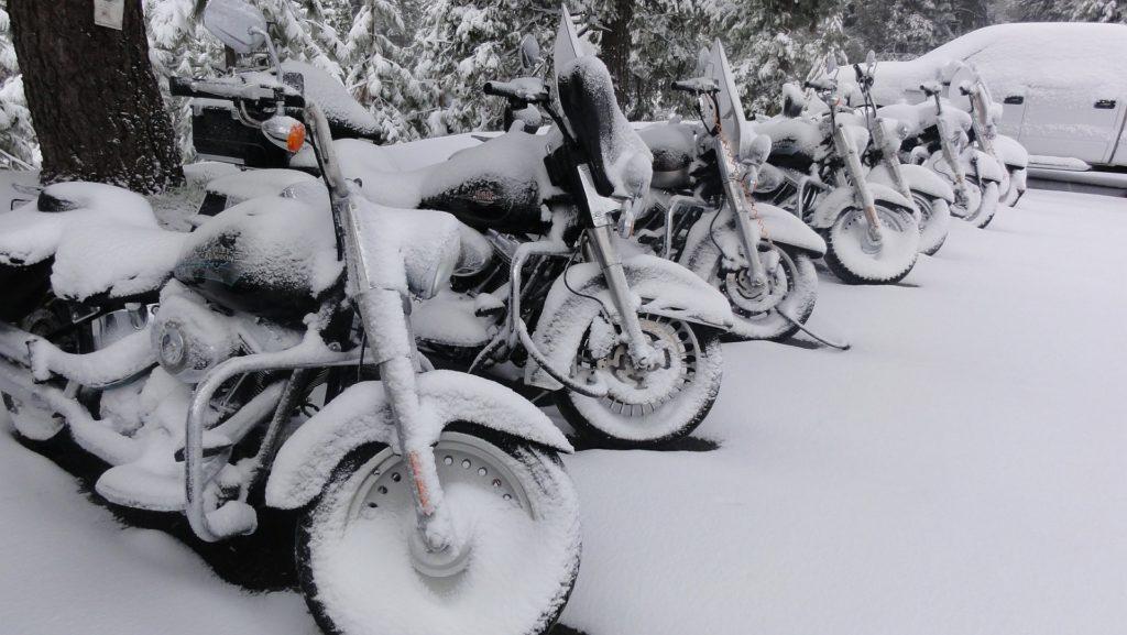 Abdeckplane Motorrad Outdoor Schnee Winter
